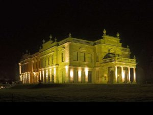 The floodlit glory of Nidd Valley House